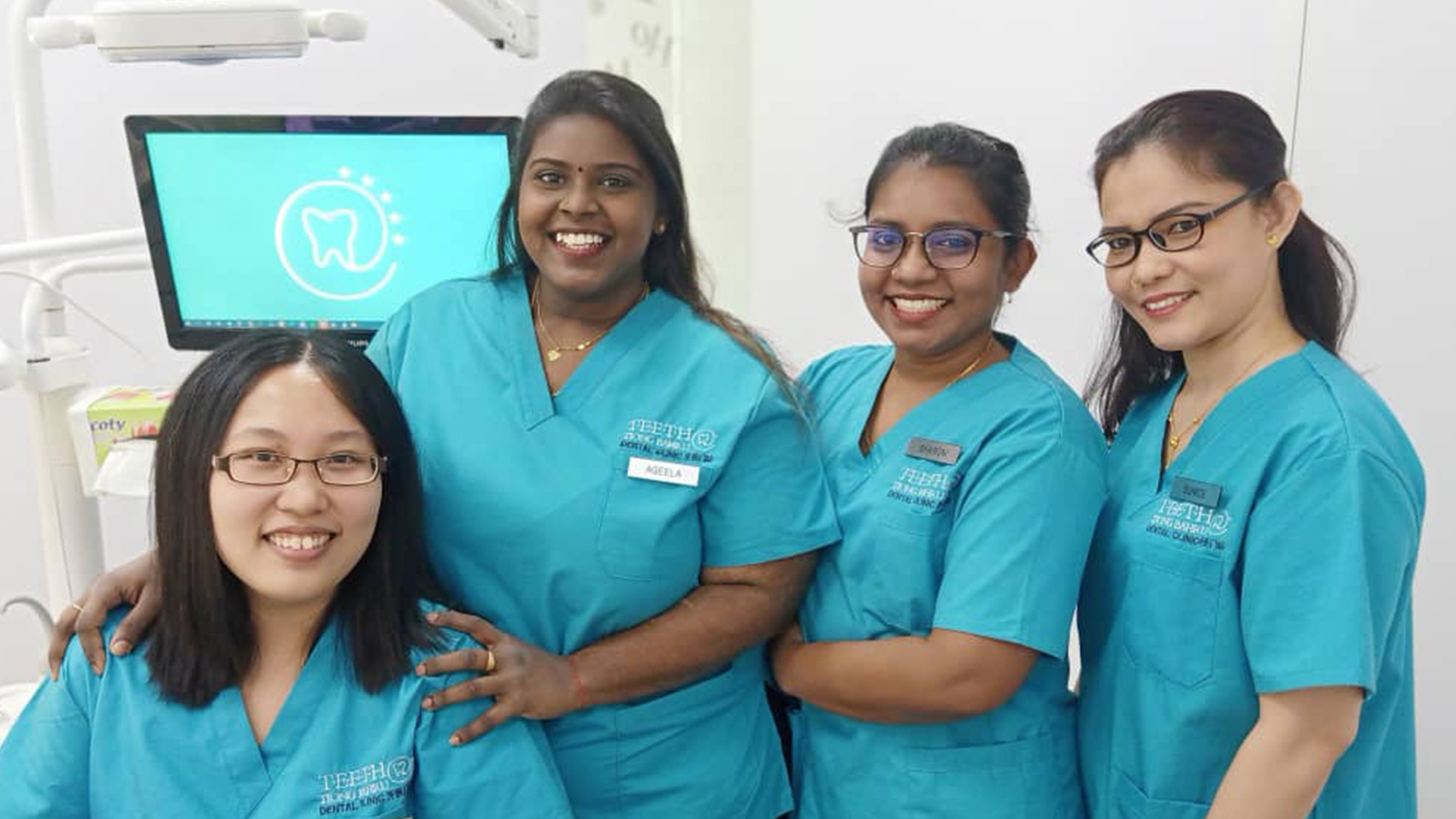 TEETH Tiong Bahru neighborhood dental clinic team